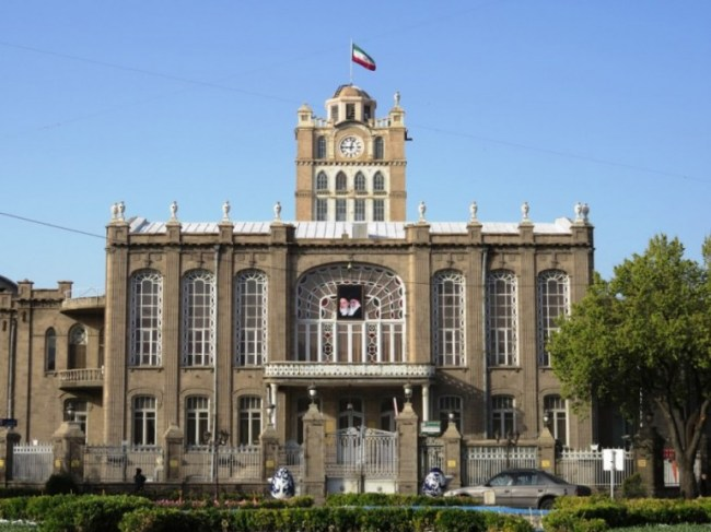 Municipall hall in Tabriz