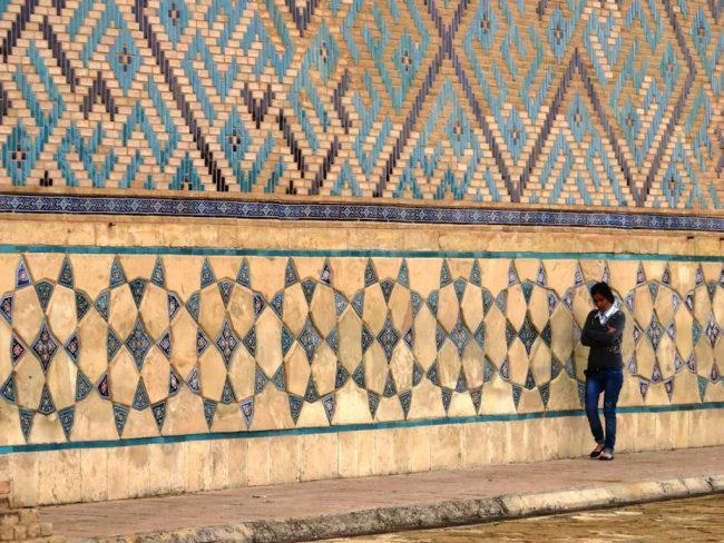 Yasaui mausoleum in Turkestan, Shymkent