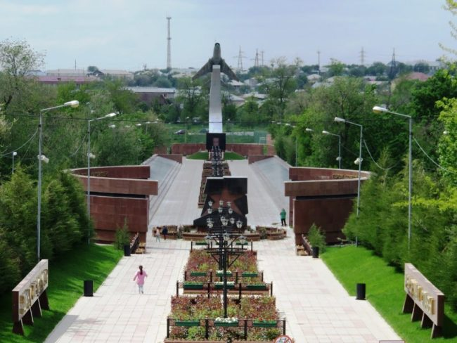 Alleya slavy in Shymkent