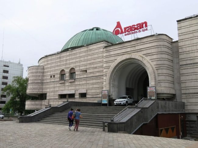 Arasan baths are one of the best things to do in Almaty Kazakhstan