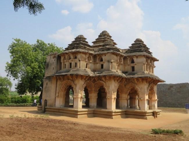 Lotus Mahal in Hampi