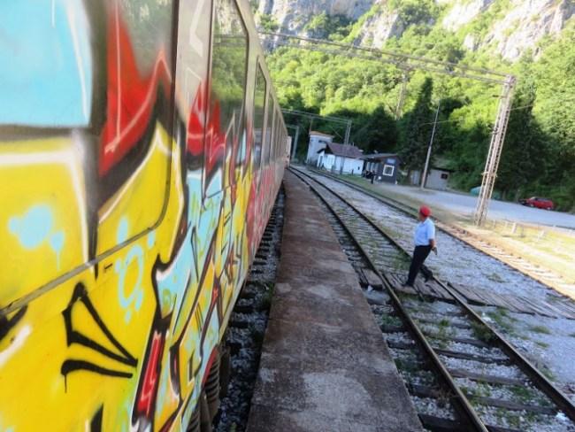 Train from Belgrade to Bar