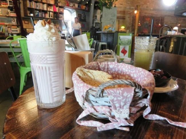 Cafe in Pristina in Kosovo