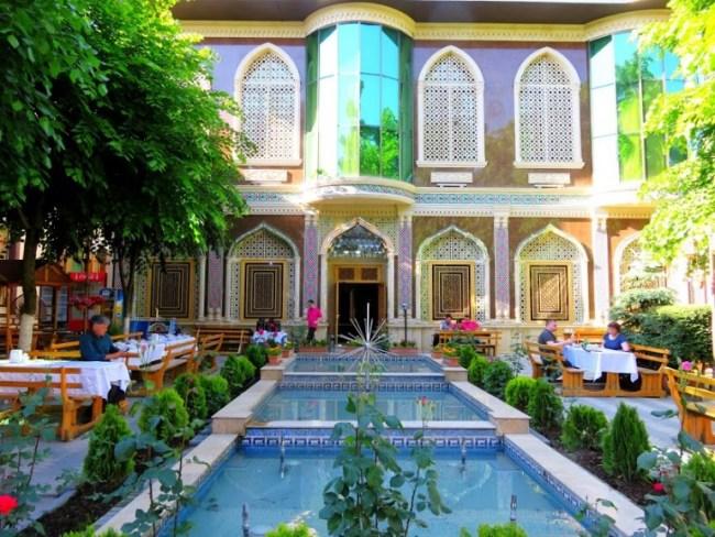 Chalabi Khan restaurant in Sheki width=