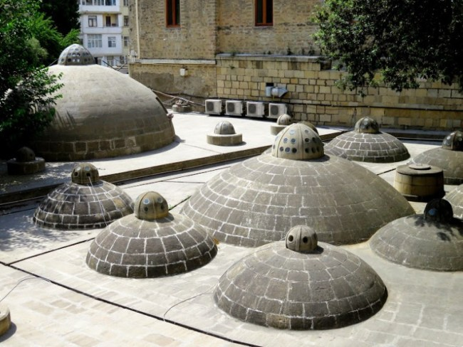 Hamam in the old town in Baku