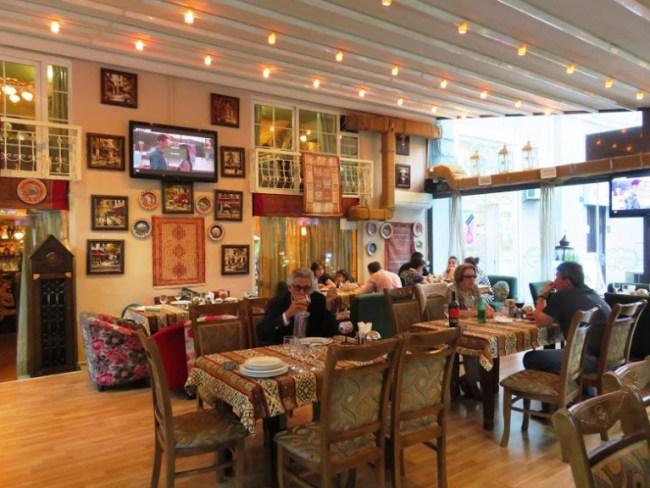 Fisincan restaurant in Baku