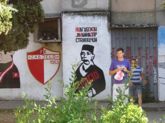 Podgorica in Montenegro
