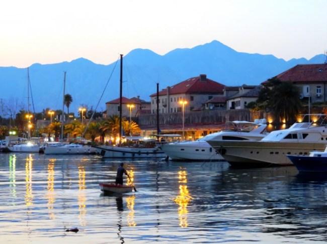 Fishermen in Kotor Montenegro