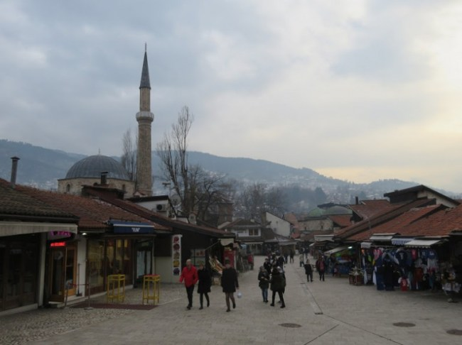 The Bascarsija is among the top things to do in Sarajevo