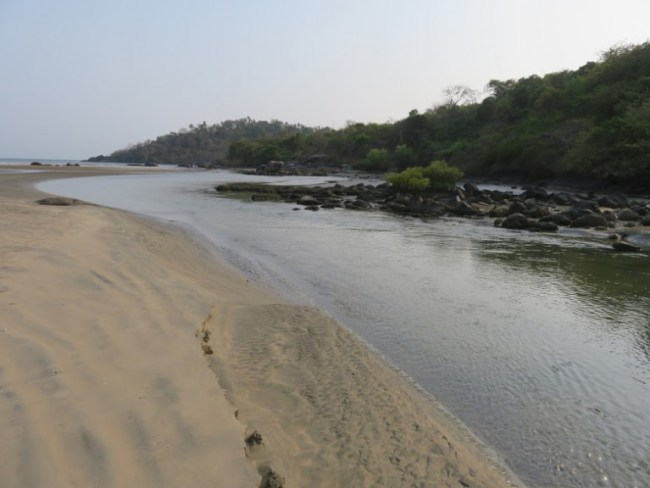Things to do in Palolem: butterfly beach