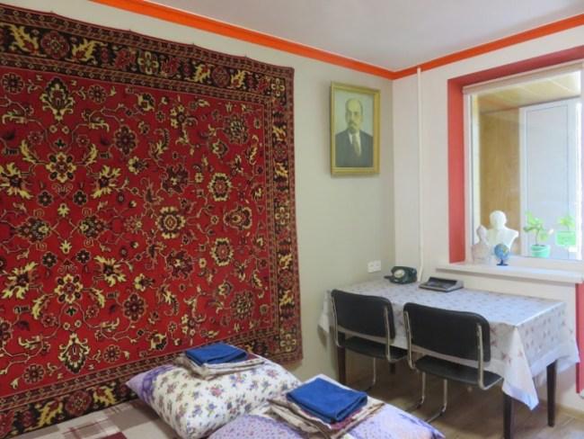 Lenin street hostel in Tiraspol