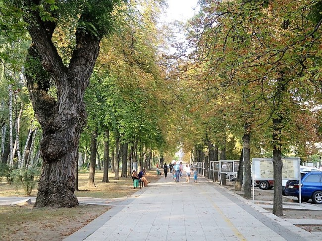 Central park in Chisinau