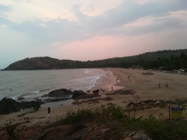 best beach in Gokarna