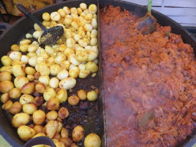 polish traditional food at the festival of european taste