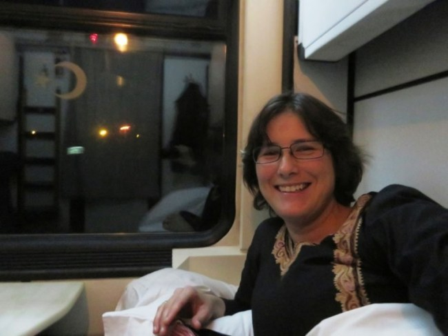 Dogu express train couchette compartment at Dogu ekspresi