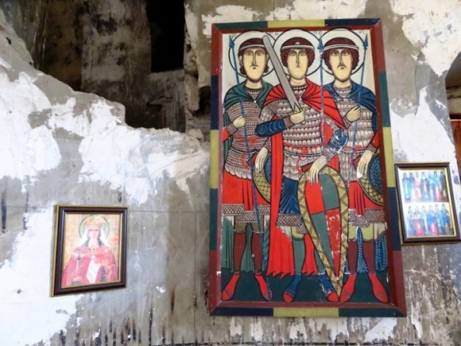 things to do in sighnaghi: the church