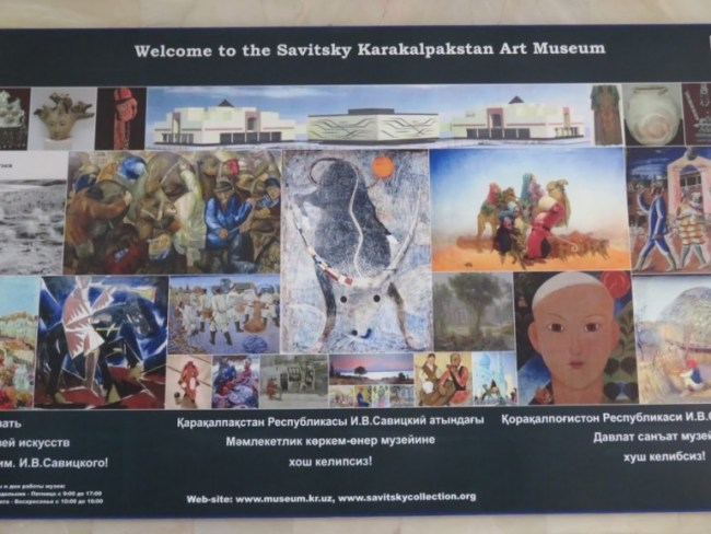 the Savitsky Art museum is among the top things to do in Nukus