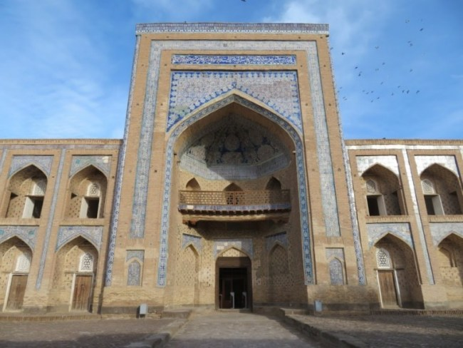 Madrassah in Khiva Uzbekistan
