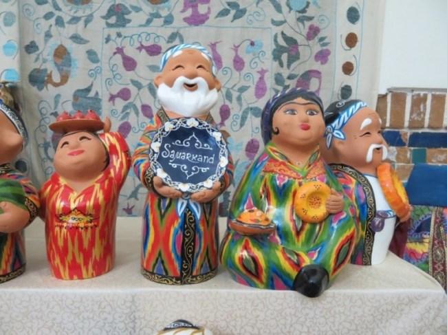 Souvenirs Uzbekistan