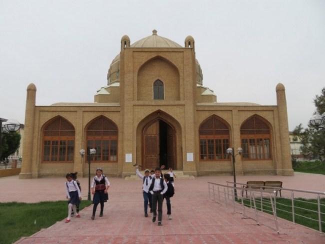 Oti Valikhon Tur mosque in Namangan in Uzbekistan