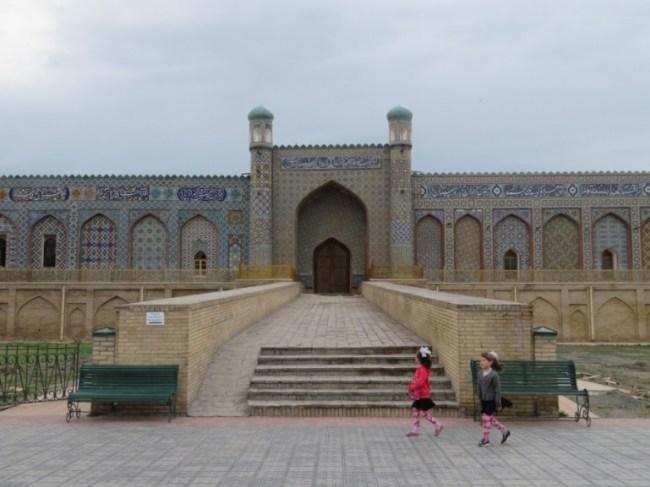 Khudayar Khan palace in Kokand Fergana valley in Uzbekistan