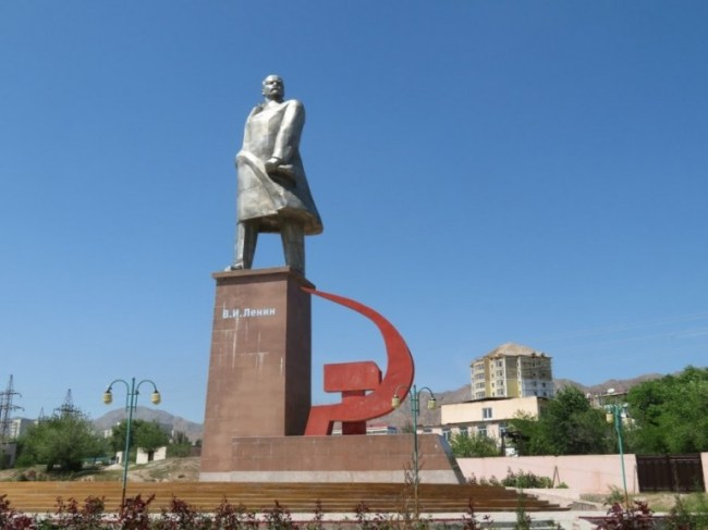 The largest Lenin statue in Central Asia is in Khujand and among the top things to do in Tajikistan