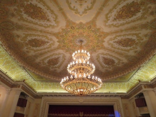 Ayni opera & Ballet theatre in Dushanbe Tajikistan