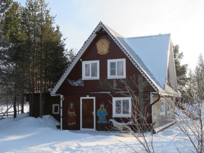 Saami village