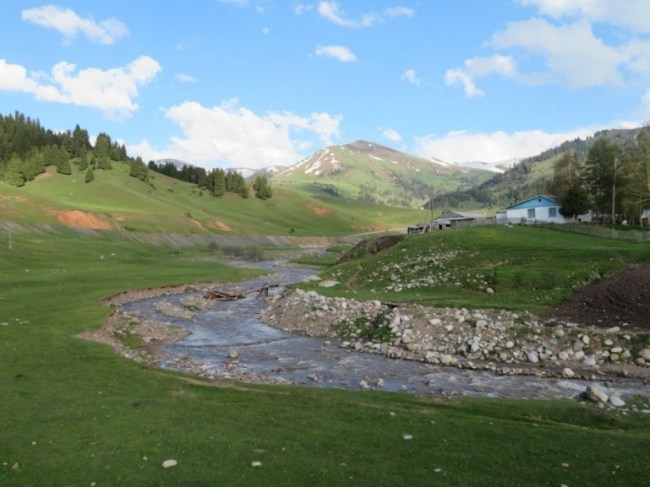 Rural life in Jyrgalan Kyrgyzstan