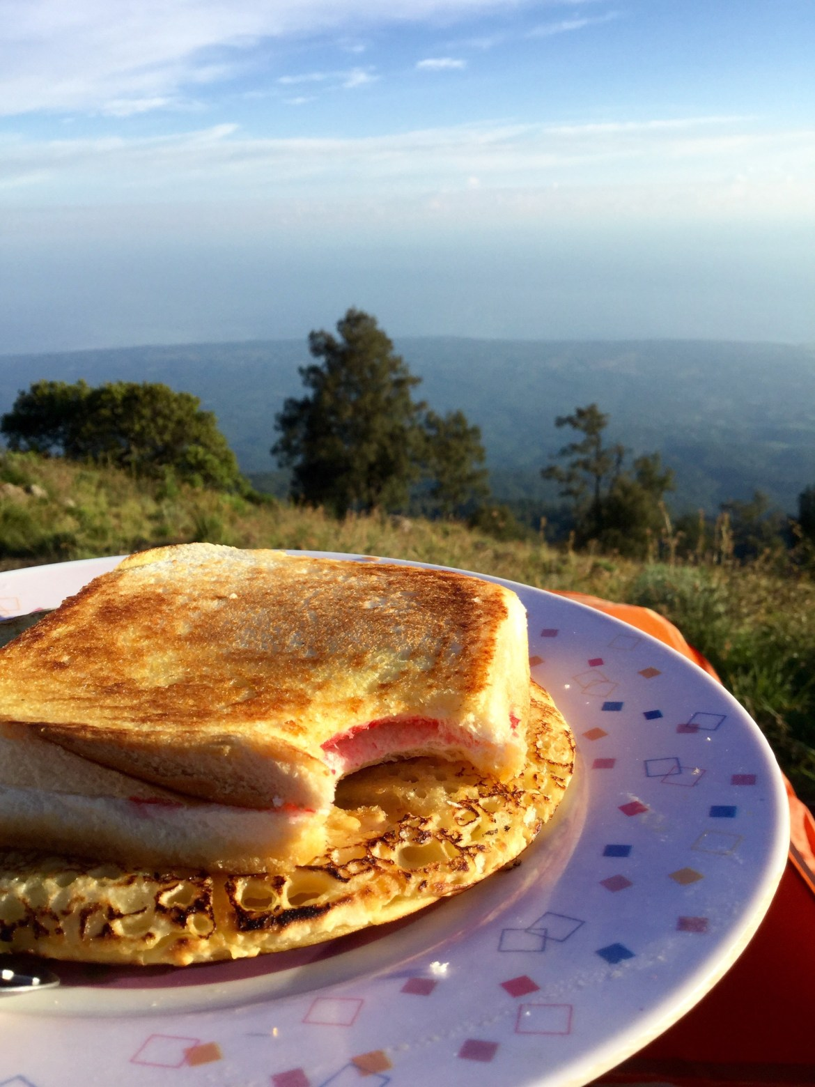 Breakfast Rinjani Trek