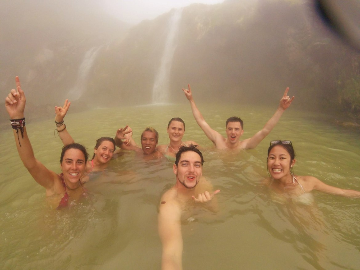 Hot Spring Rinjani