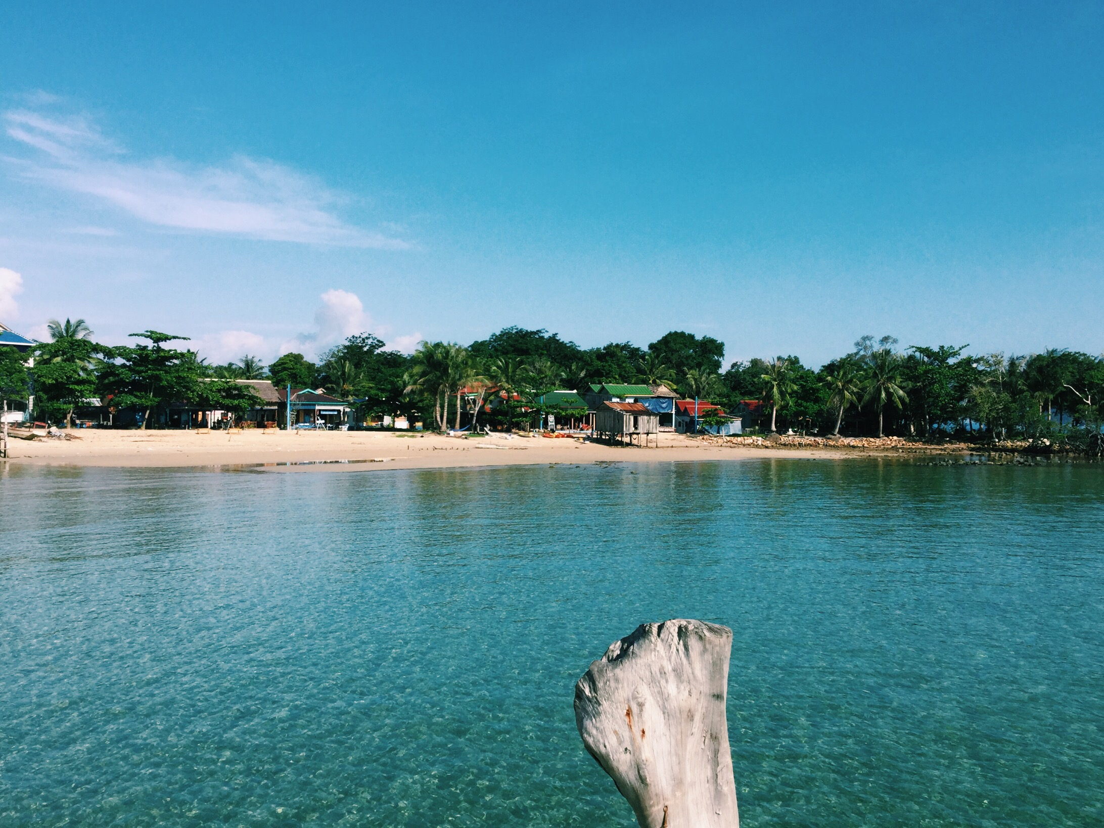 Nothing but chilling on Koh Rong Samloem