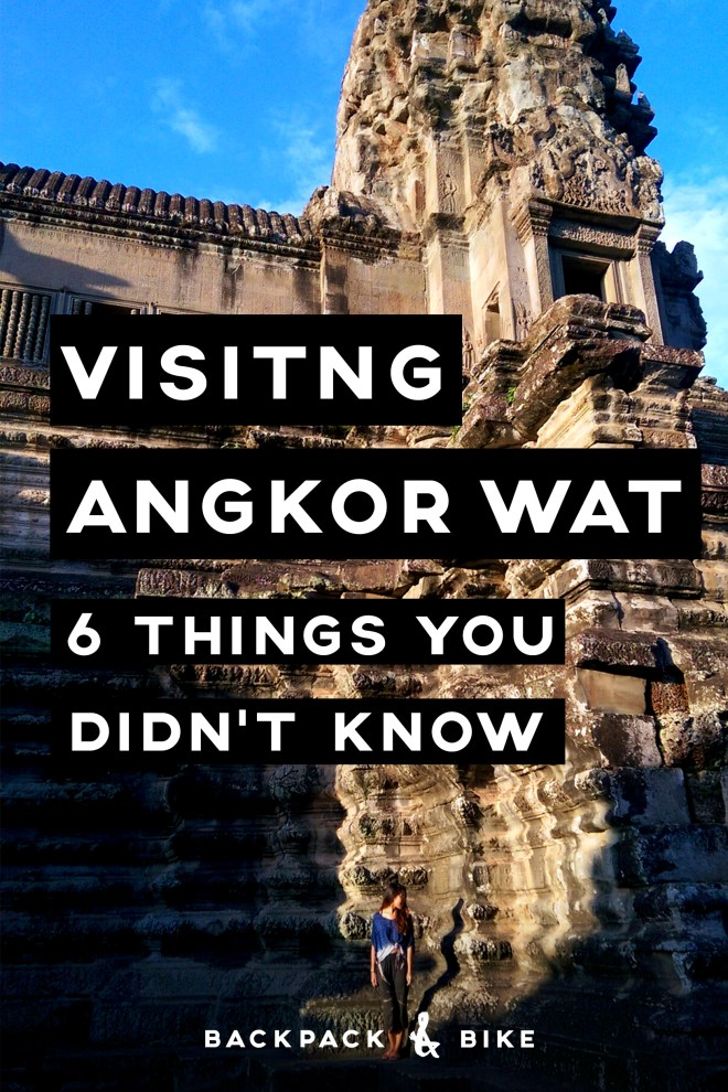 Visiting Angkor Wat   6 Things You Didn't Know   So you're in (or planning a visit to) Southeast Asia. Have you considered a trip to Siem Reap, Cambodia to visit Angkor Archeological Park (Angkor Wat)?