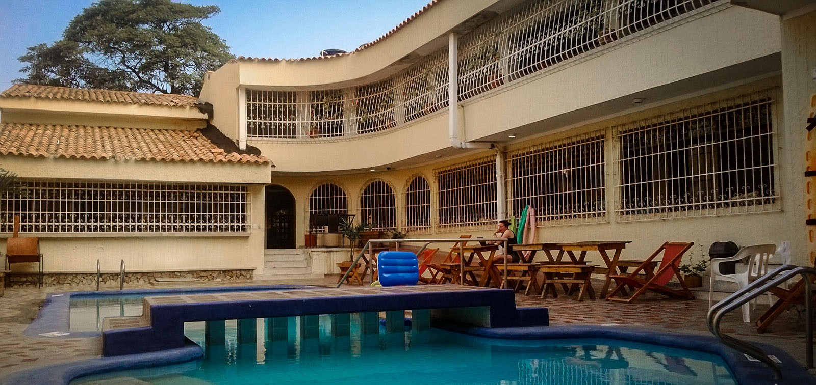 Our Stay in an ExCartel Mansion in Santa Marta Colombia