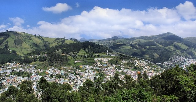 Mochilero en Ecuador