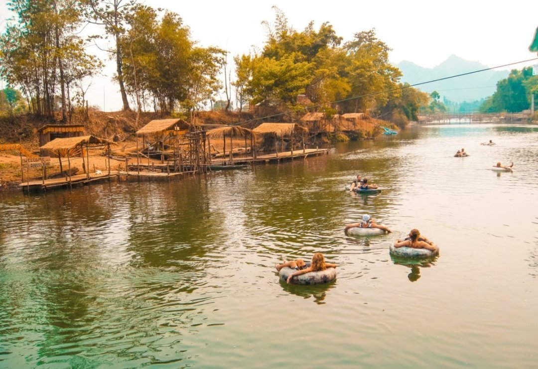 River Tubing In Laos | River Tubing Vang Vieng | What to do in Vang Vieng | Adventure | Backpack South East Asia | Travel | Backpacking | Must Visit | Do Not Miss | Laos | Tubing | Nam Song River | Adventure | Photography | Backpackers Wanderlust | #laos #vangvieng #tubing #rivertubing #adventure