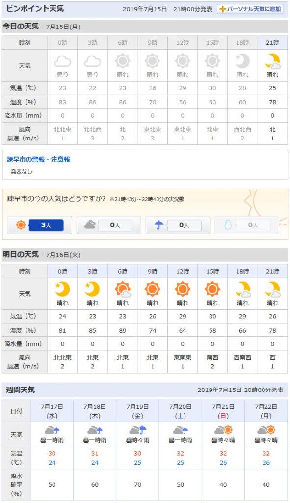 日本北九州天氣預測網站 – 日本北九州長崎縣,熊本縣秋天之旅