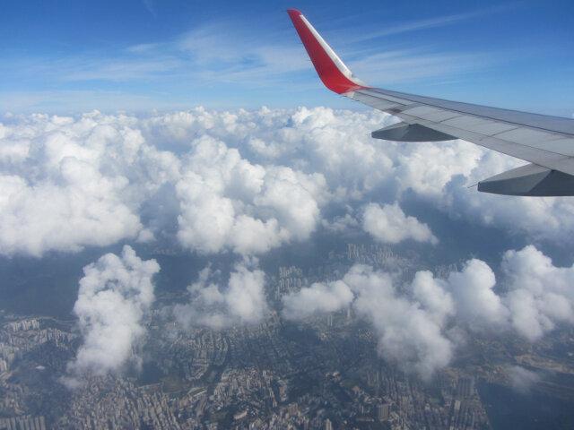 搭乘香港快運航空往釜山金海國際機場 – 韓國南部秋天之旅