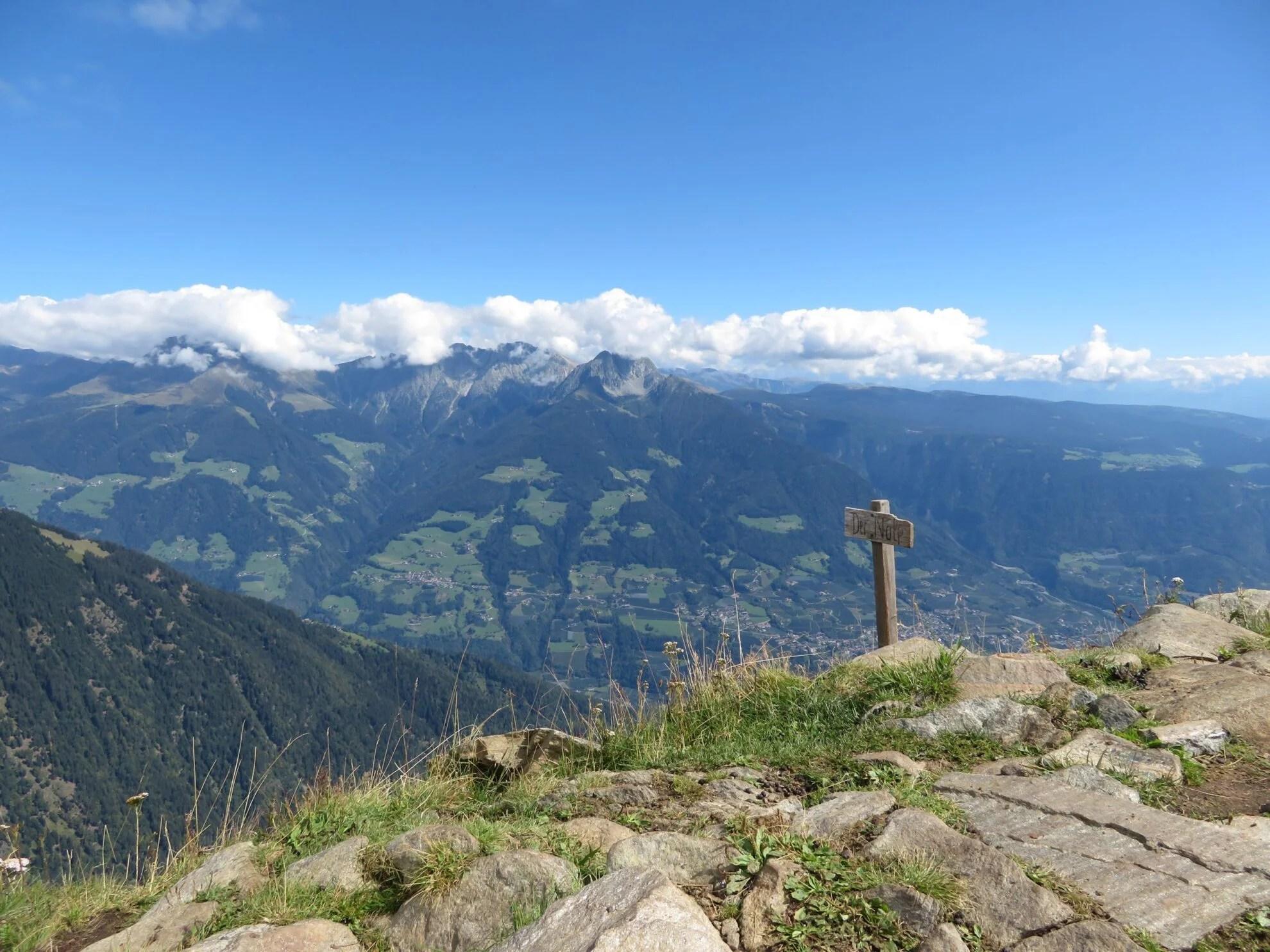 Der Nopf | Mutspitze | Dorf Tirol | Wandelen in Zuid Tirol
