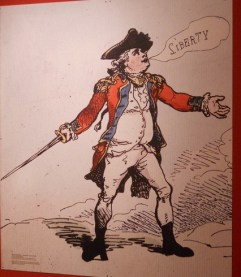 Liberty! An old American depiction.