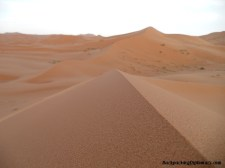 Dunes of the Moroccan Sahara