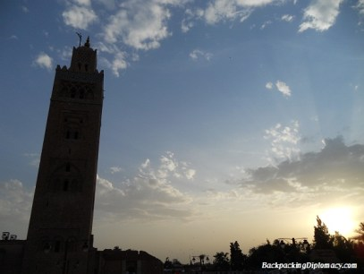 Mosque in Marrakech