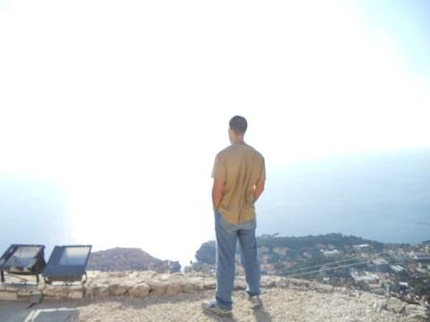 Overlooking Dubrovnik's Old Harbor