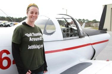 Amber Nolan of JetHiking.com