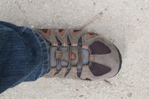 Walking in my Merrells