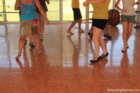 catalan dancing