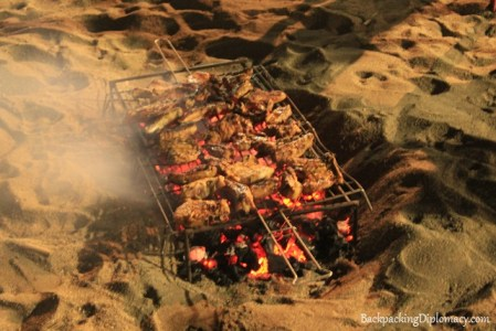 Barbecue in Spain
