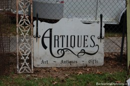 Antique sign.
