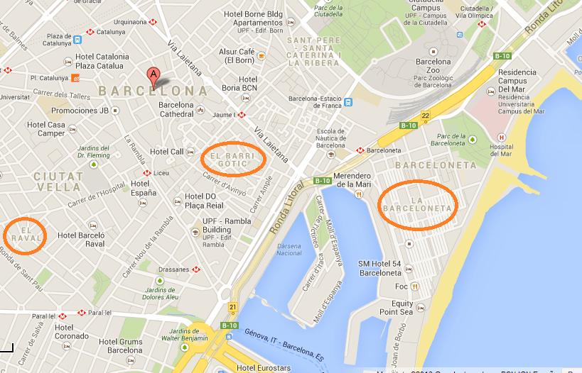 5 Cool Neighborhoods In Barcelona Backpacking Diplomacy