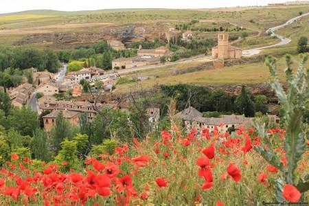 Overlooking Segovia Spain